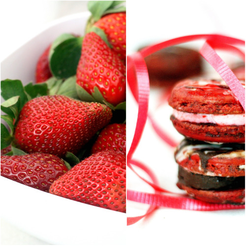 Chocolate dipped Strawberry' Macarons and a Winner is announced ...