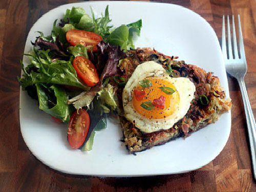 Rosti With Bacon And Scallions Recipes — Dishmaps