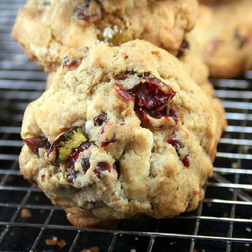 White Chocolate Cranberry Salted Pistachio Drop Cookies and a Giveaway ...